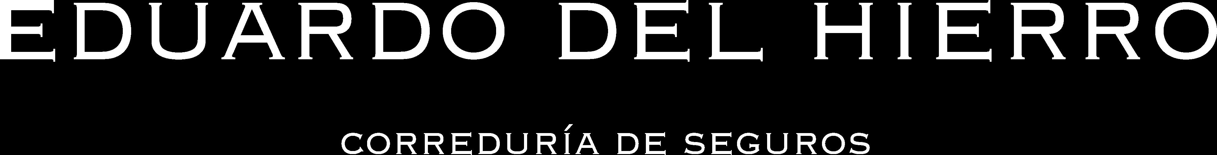 Logo de Eduardo del Hierro
